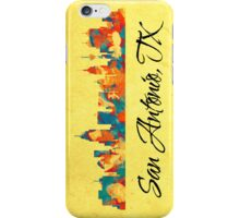 San Antonio Texas Skyline iPhone Case/Skin