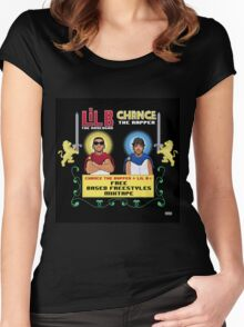 Lil B & Chance The Rapper - Free Based Freestyles   JAKKOUTTHEBXX Women's Fitted Scoop T-Shirt