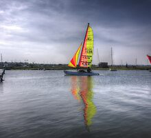 Tollesbury Sailing Boat by Nigel Bangert
