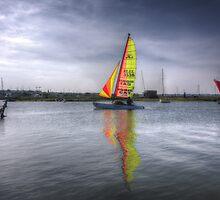 Tollesbury Sailing Boat by Nigel Bangert