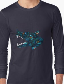 Fur Filled Long Sleeve T-Shirt