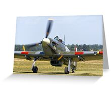 Hawker Hurricane MK IIB Greeting Card
