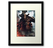 Dwarf Fighter Portrait Framed Print
