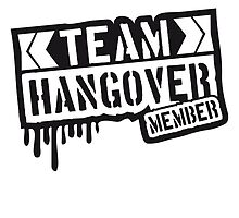 Cool Team Hangover Member Stempel by Style-O-Mat