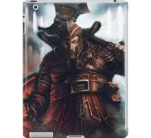 Dwarf Fighter Portrait iPad Case/Skin