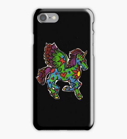 Playful Unicorn iPhone Case/Skin