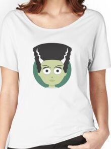 Little Monsters: Bride of Frankenstein Women's Relaxed Fit T-Shirt