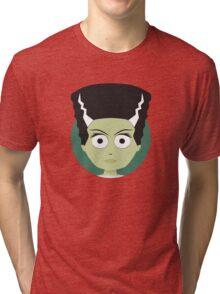 Little Monsters: Bride of Frankenstein Tri-blend T-Shirt