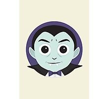 Little Monsters: Dracula Photographic Print