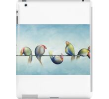 Finches On Parade iPad Case/Skin