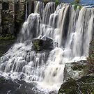 Ebor Falls Overflow by Barbara Burkhardt