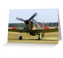 Hawker Hurricane MK I Greeting Card