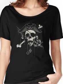 The Pirates Skull Women's Relaxed Fit T-Shirt