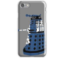Tardis Dalek  iPhone Case/Skin