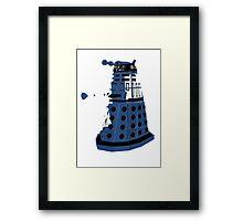 Tardis Dalek  Framed Print
