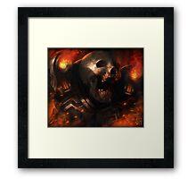 Doom Revenant Framed Print