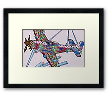 Mustang Silly! Framed Print