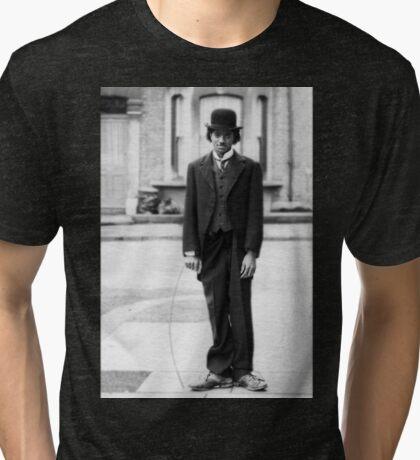MJ - Charlie Chaplin Tri-blend T-Shirt