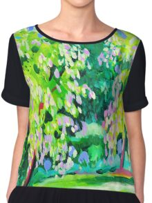 Garden at Somersby Chiffon Top