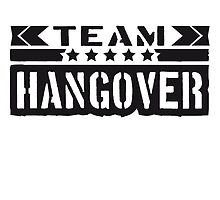 Cool Team Hangover Design by Style-O-Mat