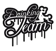 Cool Drinking Team Graffiti by Style-O-Mat