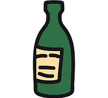 Beer bottle drinking drunk by Style-O-Mat