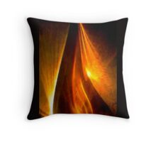 Flame Pillow and Tote Bag Throw Pillow