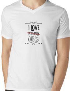 I love my cats Mens V-Neck T-Shirt