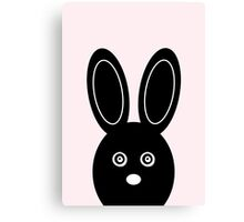 Bunny Boo - Pink Canvas Print