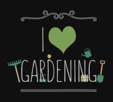 I love gardening One Piece - Short Sleeve