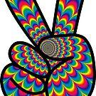 Psychedelic Peace!  by ImageMonkey