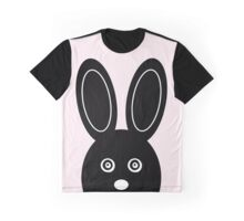 Bunny Boo - Pink Graphic T-Shirt