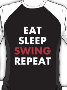 Cesaro - Eat Sleep Swing Repeat T-Shirt