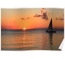 Cayman Sail Poster