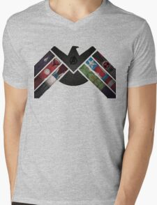 Assemble Mens V-Neck T-Shirt