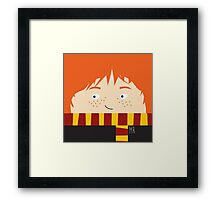 Ron, harry potter Framed Print