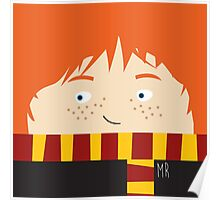 Ron, harry potter Poster