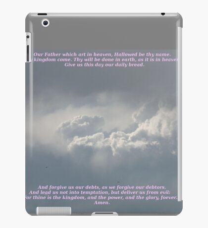 The Lords Prayer iPad Case/Skin