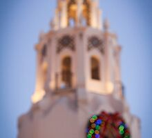 Carthay Circle Bokeh at Christmas Time by gretchybear