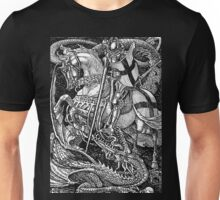 St George and the Dragon Unisex T-Shirt