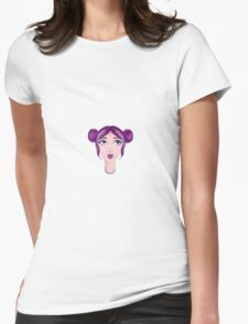 Rainbow Freckles Womens Fitted T-Shirt