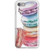 Coloured Macrons iPhone Case/Skin