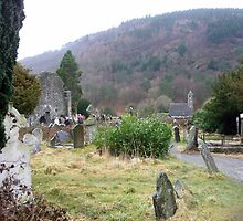 Rainy day at Glendalough by nealbarnett