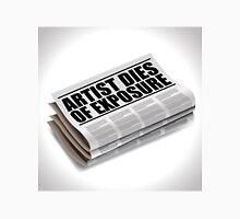 Artis dies of exposure newspaper headline Unisex T-Shirt