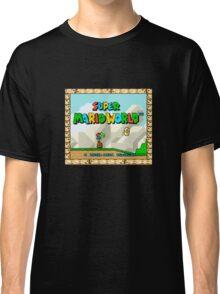Super Mario World title screen Classic T-Shirt