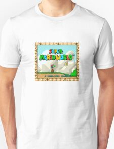 Super Mario World title screen Unisex T-Shirt