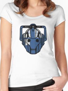 cyberman tardis Women's Fitted Scoop T-Shirt