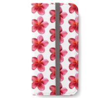 Pink Plumeria iPhone Wallet/Case/Skin