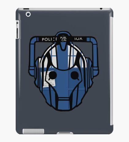 cyberman tardis iPad Case/Skin