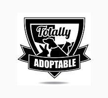 Totally adoptable pet rescue design Unisex T-Shirt